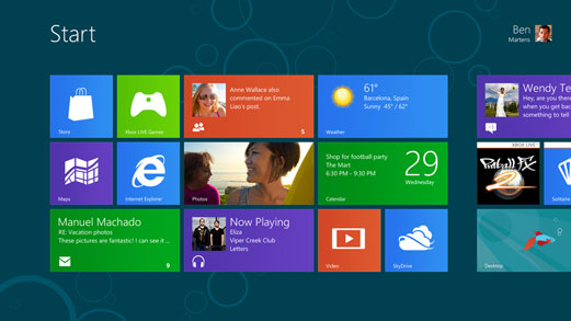 windows 8 [c] by Microsoft